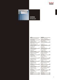DORMA Universal - DORMA Interior Glas