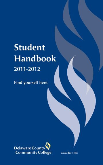 Student Handbook - Delaware County Community College