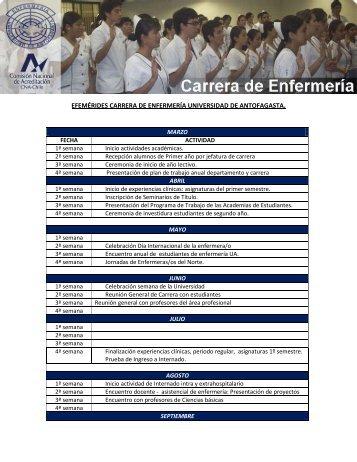 Efemérides - Universidad de Antofagasta