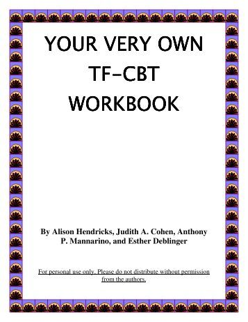 Printables Trauma Focused Cbt Worksheets dealing with trauma a tf cbt workbook for your very own workbook