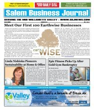 Feb 2011 - Salem Business Journal