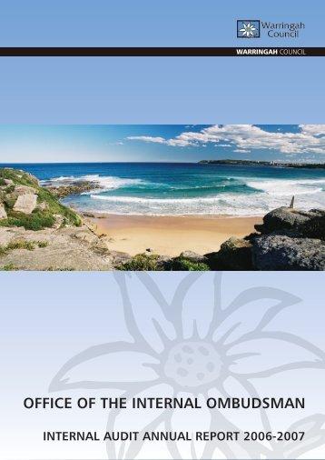 Internal Audit Plan - Warringah Council - NSW Government