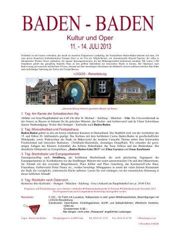 Kultur und Oper - Logos Reisen