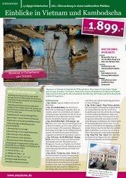 Einblicke in Vietnam und Kambodscha - AVASTAMA - Erlebnisreisen