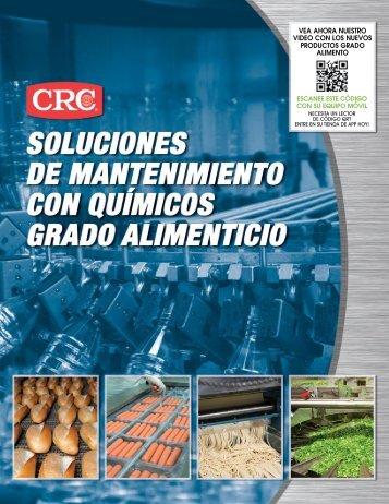Catalogo en Español de productos grado alimenticio