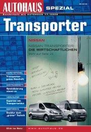 Transporter - verkehrsRUNDSCHAU.de