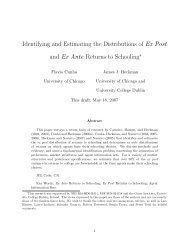 Identifying and Estimating the Distributions of Ex Post and Ex Ante ...