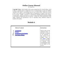 Module 6 - my-accounting
