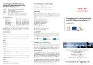 Flyer - Akademie der Ingenieure AkadIng GmbH