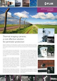 Thermal imaging cameras, a cost effective solution for perimeter ...