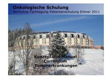 Konzept und Manual Curriculum Tumorerkrankung der DRV Bund