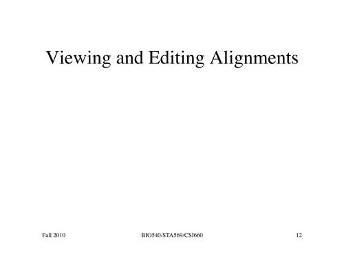 Lecture 12 10/13/10 pdf - Department of Computer Science