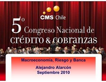 Macroeconomía, Riesgo y Banca Alejandro Alarcón ... - SINACOFI