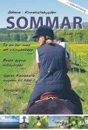 Götene - Kinnekullebygden Guide 2012 Ta en tur ... - Götene Tidning