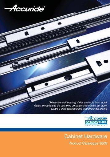 Cabinet Hardware - Accuride & Accuride Magazines