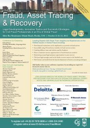 Fraud, Asset Tracing & Recovery - C5
