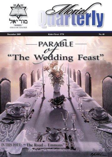 The Wedding Feast (~19.49) - Moriel Ministries