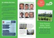 Viele Parteien finden heute grüne Ideen gut. Aber nur eine setzt sie ...