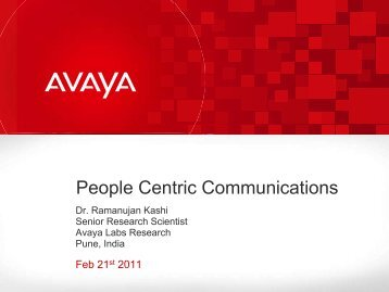 People Centric Communications