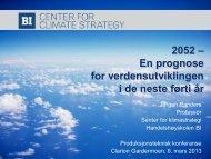 En prognose for verdensutviklingen i de neste 40 år ... - Energi Norge