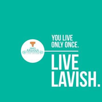 Trimurty Ariana - LIVE LAVISH