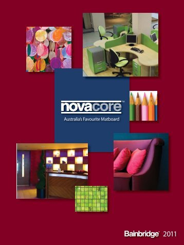 Novacore Specifier 2011.indd