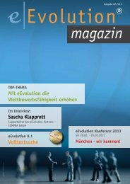 eEvolution Magazin als PDF herunter