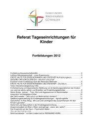Jahreskalender - Evangelischer Kirchenkreis Gütersloh