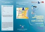 ausili e mercato Prospettive nell'assistenza protesica ... - Innovazione