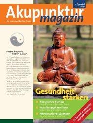Akupunktur 2. Quartal 2009