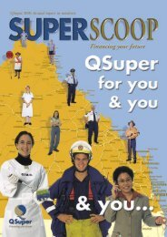 [PDF] Super Scoop 2001 - QSuper - Queensland Government