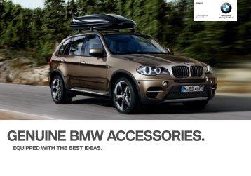 GenUine BMW ACCeSSORieS. - Home