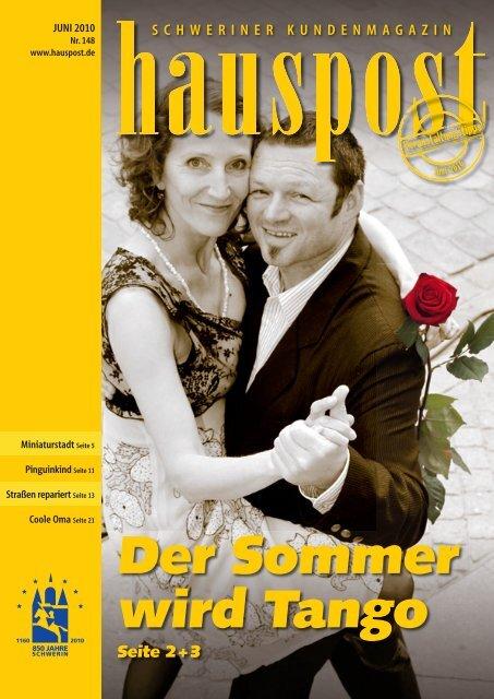 Der Sommer wird Tango - Hauspost