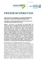 Pressemitteilung als pdf - Expedition N