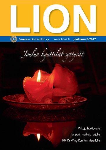 Joulun kynttilät syttyvät - Suomen Lions-liitto ry
