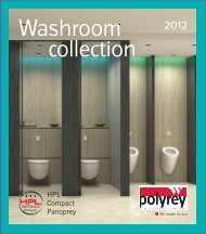 Washroom Collection Brochure - Barbour Product Search