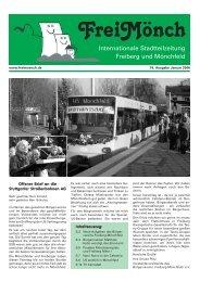 ¥Ausgabe 18 - Bürgerverein Freiberg und Mönchfeld eV