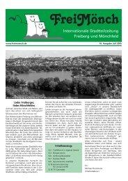 Ausgabe 16 - Bürgerverein Freiberg und Mönchfeld eV