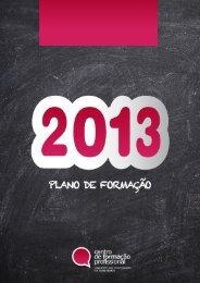 Plano de Formação 2013 - Sindicato dos Professores da Zona Norte
