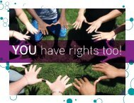 You Have Rights Too! - Network of Care