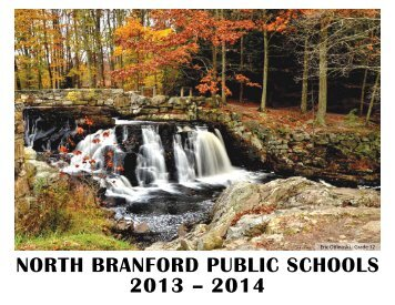 2013-2014 calendar - North Branford Public Schools