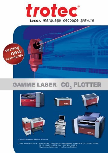 26/28 avenue - Trotec Laser