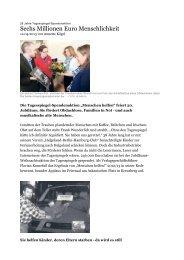 Pressetext aus Tagesspiegel - Wichern Diakonie Frankfurt