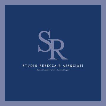 Presentazione scaricabile - Studio Rebecca & Associati