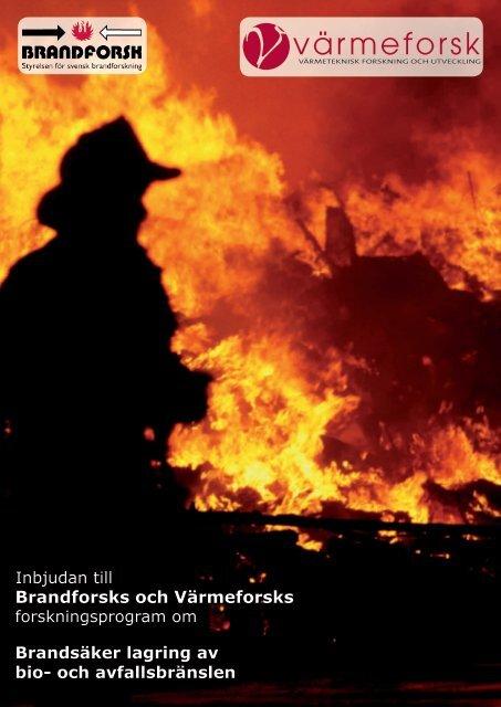 Brandforsks och Värmeforsks