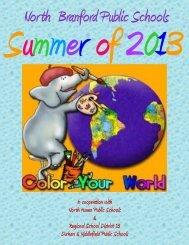North Branford Public Schools Summer Camp Brochure