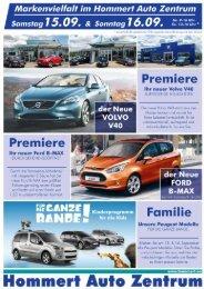 Premlere - Hommert Auto Zentrum