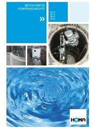 Prospekt ansehen - HOMA - Pumpen mit System