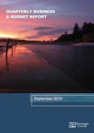 strategic community plan - Warringah Council