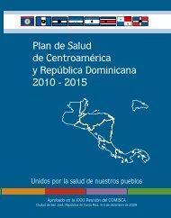 Plan de Salud de Centroamérica y República Dominicana 2010 ...